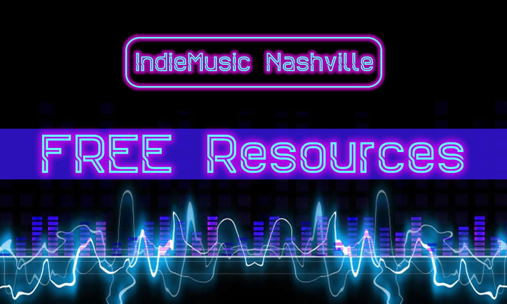 Free Resources at IndieMusicNashville.com